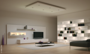 System Ideas With Cool Led Ceiling Recessed And Wall Shelves Concealed Lights Furniture Accessories Creative Eye Catching Home Interior